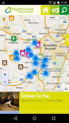 screenshot app ontdek.penzine.be
